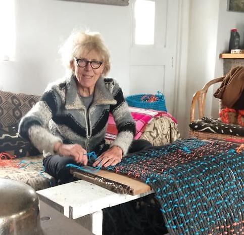 Hanneke Frenkel making her