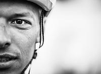 Oliver Naesen (BEL/AG2R La Mondiale) pre race.<br /> <br /> 71st Kuurne-Brussel-Kuurne (2019)<br /> Kuurne > Kuurne 201km (BEL)<br /> <br /> ©kramon