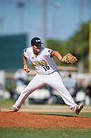 Christian Bodlovich during the WWBA World Championship at the Roger Dean Complex on October 21, 2018 in Jupiter, Florida.  Christian Bodlovich is a right handed pitcher from San Pedro, California who attends Mira Costa High School and is committed to Arizona State.  (Mike Janes/Four Seam Images)