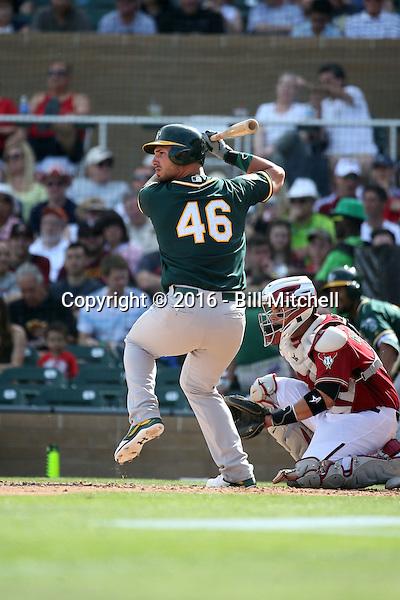 Rangel Ravelo - Oakland Athletics 2016 spring training (Bill Mitchell)