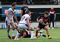 Oliver Leyland of London Broncos during the Betfred Championship match between London Broncos and Newcastle Thunder at The Rock, Rosslyn Park, London, England on 9 May 2021. Photo by Liam McAvoy.