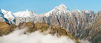 Mount Copland, Westland Tai Poutini National Park, UNESCO World Heritage Area, West Coast, New Zealand, NZ