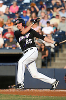 July 10th 2008:  Matt Whitney of the Akron Aeros, Class-AA affiliate of the Cleveland Indians, during a game at Canal Park in Akron, OH.  Photo by:  Mike Janes/Four Seam Images