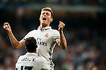 Toni Kroos of Real Madrid celebrates with teammates during their La Liga match at the Santiago Bernabeu Stadium between Real Madrid and RC Celta de Vigo on 27 August 2016 in Madrid, Spain. Photo by Diego Gonzalez Souto / Power Sport Images