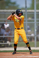 Stone Russell (7) during the WWBA World Championship at Lee County Player Development Complex on October 9, 2020 in Fort Myers, Florida.  Stone Russell, a resident of Bradenton, Florida who attends IMG Academy High School, is committed to Florida.  (Mike Janes/Four Seam Images)