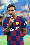 Presentation 1st team FC Barcelona 2019/2020.<br /> Lionel Messi.