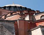 Hagia Sophia Angles 01 - Hagia Sophia (Aya Sofya) basilica, Sultanahmet, Istanbul, Turkey