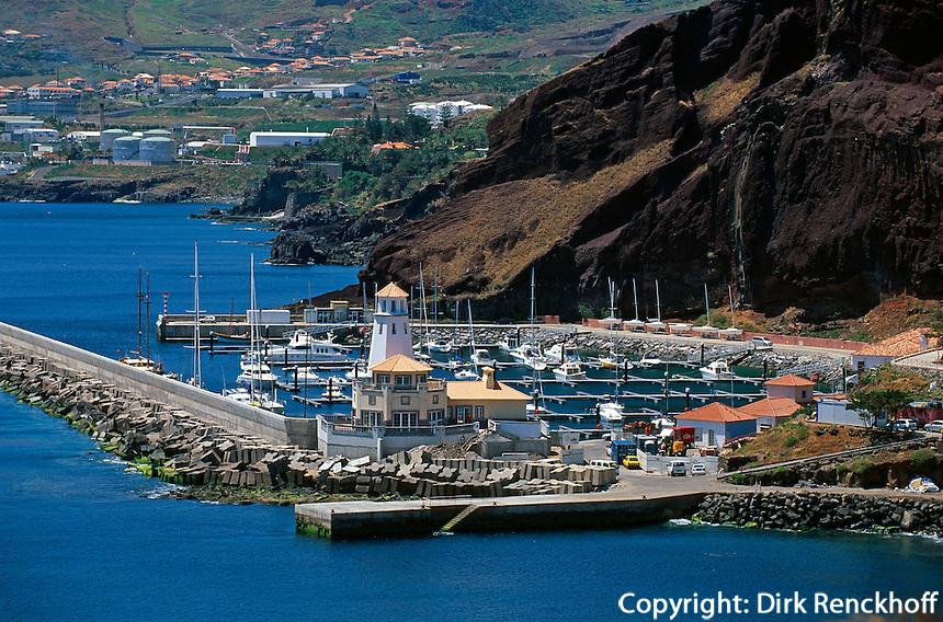 Portugal, Madeira, Sportboothafen von Canical