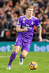 Toni Kroos of Real Madrid in action during their La Liga match between Valencia CF and Real Madrid at the Estadio de Mestalla on 22 February 2017 in Valencia, Spain. Photo by Maria Jose Segovia Carmona / Power Sport Images