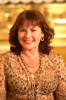 actress Mary Walsh<br /> on  the set of MAMBO ITALIANO ,Directed by Emile Gaudreault and co-written with Steve Galluccio , based on his  theater play.<br /> <br /> The son of Italian immigrants to Canada struggles to find the best way to reveal to his parents that he's gay