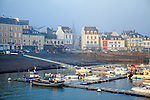 Le Palais (Breton: Porzh-Lae) It is one of the four communes on the island Belle Île.<br /> Belle-Île, Belle-Île-en-Mer, or Belle Isle (ar Gerveur in Modern Breton; Guedel in Old Breton) is a French island off the coast of Brittany in the département of Morbihan, and the largest of Brittany's islands. It is 14 km from the Quiberon peninsula.