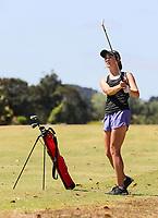 Lily Griffin. NZ Speedgolf Open, Whitford Park Golf Club, Whitford, Auckland, New Zealand. Photo: Simon Watts/www.bwmedia.co.nz/NZGolf
