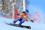 FIS Snowboard World Cup - Covid-19 Outbreak  Parallel Slalom event on 17/12/2020 in Carezza, Italy. In action Giulia Gaspari