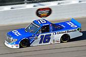 #16: Austin Hill, Hattori Racing Enterprises, United Rentals Toyota Tundra