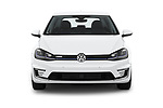 Car photography straight front view of a 2019 Volkswagen e-Golf Base 5 Door Hatchback