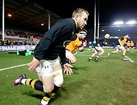 Photo: Richard Lane/Richard Lane Photography. Harlequins v Wasps.  European Rugby Champions Cup. 13/01/2018. Wasps' Dan Robson warm up.