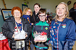 Fiona Mahoney, Trish and Lynn Lucid, Saoise Collins with Dylan O'Mahoney at the Arts, Crafts and Food fare at the Ardfert Community Centre on Sunday.