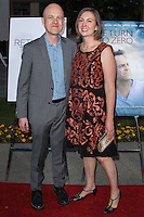 """HOLLYWOOD, LOS ANGELES, CA, USA - MAY 01: Paul Jaconi Biery, Trina Jaconi Biery at the Los Angeles Premiere Of Lifetime Television's """"Return To Zero"""" held at Paramount Studios on May 1, 2014 in Hollywood, Los Angeles, California, United States. (Photo by Xavier Collin/Celebrity Monitor)"""