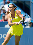 Serena Williams (USA) during her match against Jelena Jankovic (SRB) at the Western & Southern Open Serena advanced with a core of 61 63 in Mason, OH on August 15, 2014.