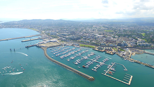 Dun Laoghaire Marina, with 800 berths it is the largest in Ireland
