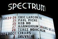 Eric Lapointe<br />  au Spectrum vers 1995<br /> <br /> (date inconnue)<br /> <br /> PHOTO : Agence Quebec Presse