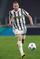 Calcio, Serie A: Juventus - Sampdoria, Turin, Allianz Stadium, September 20, 2020.<br /> Juventus' Delan Kulusevski in action during the Italian Serie A football match between Juventus and Sampdoria at the Allianz stadium in Turin, September 20,, 2020.<br /> UPDATE IMAGES PRESS/Isabella Bonotto