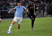 28th August 2021; Olympic Stadium, Rome, Italy; Serie A football, SS Lazio versus AC Spezia : Adam Marusic of Lazio