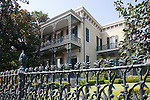 The Garden District of New Orleans, which is classified as  National Historic Landmark, is known for its historic southern mansions.  In fact, this collection of mansions may be the best preserved in the United States.