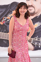 """Jo Hartley<br /> arrives for the """"David Brent: Life on the Road"""" premiere at the Odeon Leicester Square, London.<br /> <br /> <br /> ©Ash Knotek  D3143  10/08/2016"""