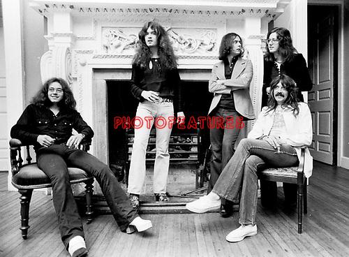 Deep Purple 1973.© Chris Walter.