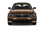 Straight front view of a 2019 BMW 3-Series-Sedan 330i-Sport-Line 4 Door Sedan