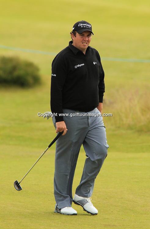 Shane Lowry during the second round of the 2012 Aberdeen Asset Management Scottish Open being played over the links at Castle Stuart, Inverness, Scotland from 12th to 14th July 2012:  Stuart Adams www.golftourimages.com:13th July 2012