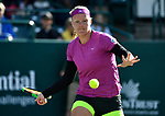April 8,2018:  Kiki Bertens (NED) defeated Julia Goerges (GER) 6-2, 6-1, at the Volvo Car Open being played at Family Circle Tennis Center in Charleston, South Carolina.  ©Leslie Billman/Tennisclix/CSM