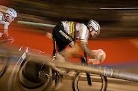 Madison World Champions Mark Cavendish (GBR/Dimension Data) & Sir Bradley Wiggins (GBR/Wiggins) at high speed<br /> <br /> 2016 Gent 6<br /> day 5