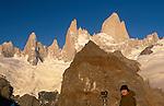 Art Wolfe on location, Los Glaciares National Park, Argentina