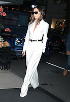 NEW YORK, NY- October 13: Victoria Beckham seen arriving at her hotel after an appearance on Late Night with Jimmy Fallon in New York City on October 13, 2021. Credit: RW/MediaPunch