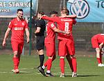 Jubel beim KSV Hessen Kassel beim Spiel in der Regionalliga Suedwest, FC Astoria Walldorf - KSV Hessen Kassel.<br /> <br /> Foto © PIX-Sportfotos *** Foto ist honorarpflichtig! *** Auf Anfrage in hoeherer Qualitaet/Aufloesung. Belegexemplar erbeten. Veroeffentlichung ausschliesslich fuer journalistisch-publizistische Zwecke. For editorial use only. DFL regulations prohibit any use of photographs as image sequences and/or quasi-video. beim Spiel in der Regionalliga, FC Astoria Walldorf - KSV Hessen Kassel.<br /> <br /> Foto © PIX-Sportfotos *** Foto ist honorarpflichtig! *** Auf Anfrage in hoeherer Qualitaet/Aufloesung. Belegexemplar erbeten. Veroeffentlichung ausschliesslich fuer journalistisch-publizistische Zwecke. For editorial use only. DFL regulations prohibit any use of photographs as image sequences and/or quasi-video.