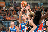 6th June 2021; Ken Rosewall Arena, Sydney, New South Wales, Australia; Australian Suncorp Super Netball, New South Wales, NSW Swifts versus Giants Netball; Helen Housby of NSW Swifts prepares to shoot