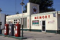 "Iowa, Winterset, Texaco Gas Station from ""Bridges of Madison County"" movie site in Winterset."