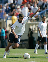 Benny Feilhaber takes shots during pre-game warmups. The USA defeated China, 4-1, in an international friendly at Spartan Stadium, San Jose, CA on June 2, 2007.