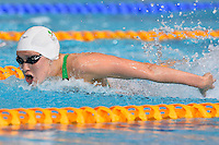 Jemma Lowe of WAL competes in 200 meter butterfly final during Commonwealth Games Swimming, Monday, July 28, 2014 in Glasgow, United Kingdom. (Mo Khursheed/TFV Media via AP Images)
