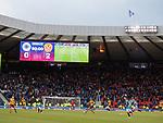 Scoreboard tells the score