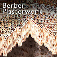 Museopics. Berber plasterwork photos. Islamic art pictures.