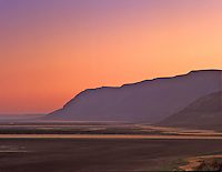 Poker Jim Ridge at sunrise. Hart Mountain National antelope Refuge, Oregon