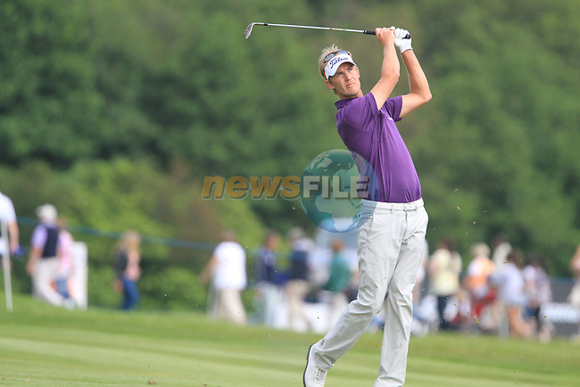 Niklas Lemke (SWE) on the 17th on Day 2 Friday of The Irish Open presented by Discover Ireland at Killarney Golf & Fishing Club on 28th July 2011 ..(Photo Jenny Matthews/www.golffile.ie)