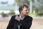 """Animal Kingdom trainer Graham Motion in the 30th running of the Kitten's Joy Gulfstream Turf Handicap (Grade 1) for 4-year olds & up, going 1 1/8 mile on the turf, at Gulfstream Park.  Trainer Claude """"Shug"""" McGaughey III.  Owner Phipps Stable"""