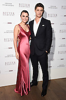 "Samatha Barks and Max Irons<br /> arrives for the ""Bitter Harvest"" Gala Screening at the Ham Yard Hotel, London<br /> <br /> <br /> ©Ash Knotek  D3230  20/02/2017"