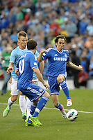 Yossi Benayoun , Chelsea (right) in action..Manchester City defeated Chelsea 4-3 in an international friendly at Busch Stadium, St Louis, Missouri.