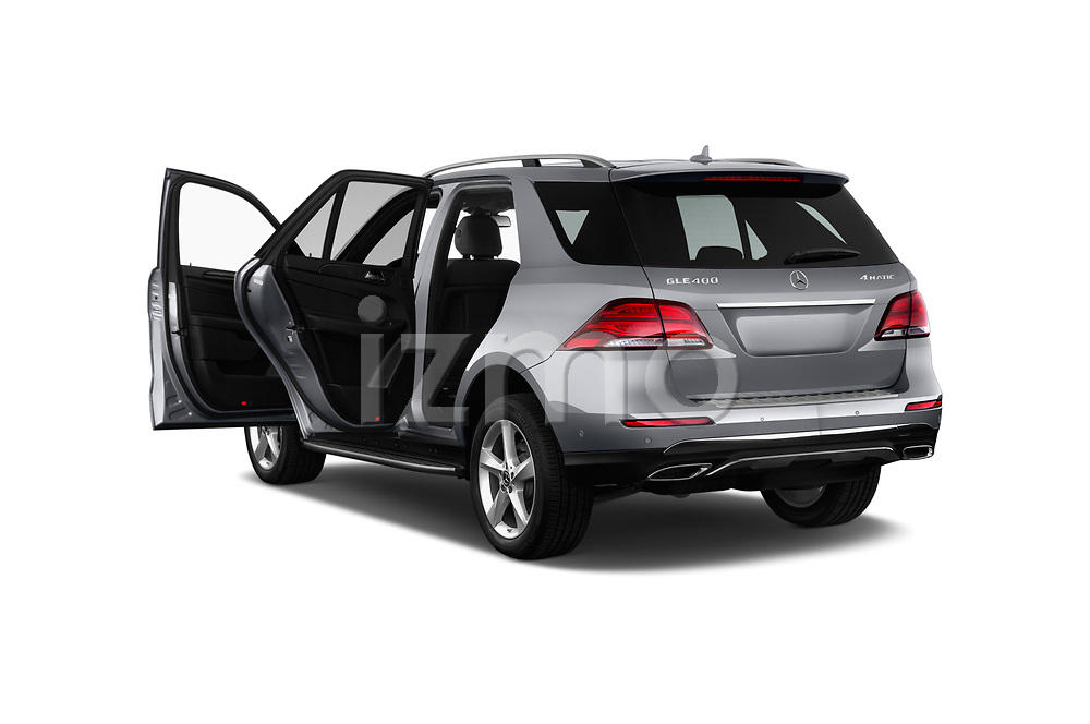 Car images close up view of a 2018 Mercedes Benz GLE Base 5 Door SUV doors