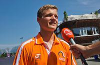Austria, Kitzbühel, Juli 18, 2015, Tennis,  Junior Davis Cup, Bart Stevens (NED)<br /> Photo: Tennisimages/Henk Koster